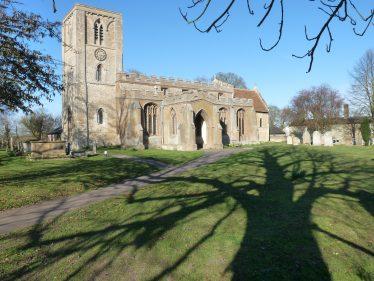 Holy Trinity, Meldreth from southwest   Peter Draper