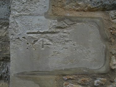 Benchmark on South side of Meldreth Church Towerr | Bruce Huett 2018