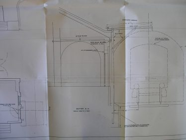One of a series of drawings showing modifications to the Goods (Transhipment) Shed made in 1953.  More drawings are attached on the bottom of this page. | Tim Gane with thanks to the Chelmsford Record Office