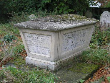 The Mortlock Tomb in Meldreth Churchyard | Photo by Tim Gane