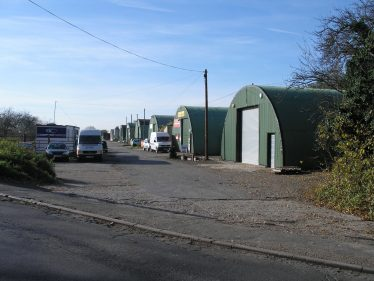 The Nissen Huts used as a clearing station for wounded soldiers during WWII are still in use today | Tim Gane