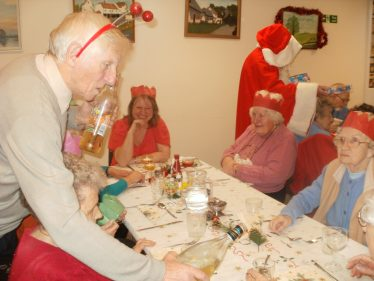 Christmas Lunch, 2010 | Photograph by Jayne White