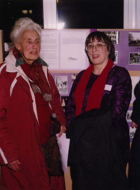 Jo and Nicki Rathbone   Photograph courtesy of Meldreth Primary School