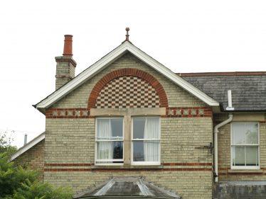 Decorated Brick in Meldreth | Bruce Huett 2014
