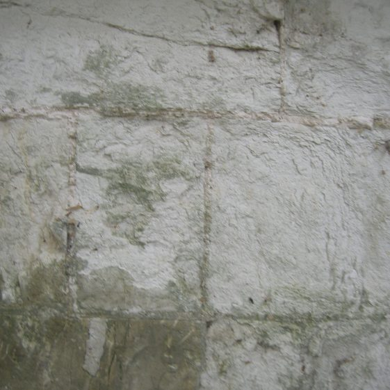 Detail of Clunch Wall: Barrington | Bruce Huett 2014