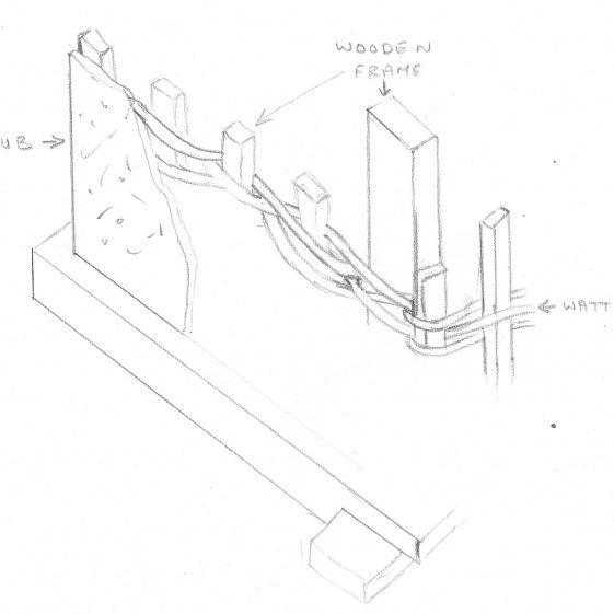 Wattle and Daub construction   Bruce Huett