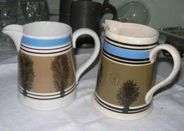 Beer Jugs from The Dumb Flea | Courtesy of Joan Rayner