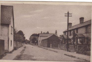 Meldreth Post Office in 1920 | Robert H Clark Postcard