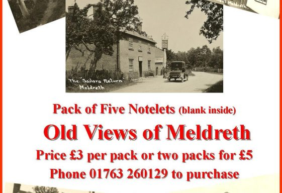 Meldreth Local History Group Merchandise