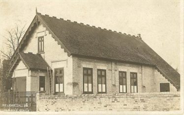 The Parish Room which stood on North End, circa 1900 | RH Clark postcard supplied by Ann Handscombe