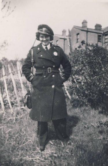 Ida Rosendale, 108 bus conductress ~1950 | Colin Matthews