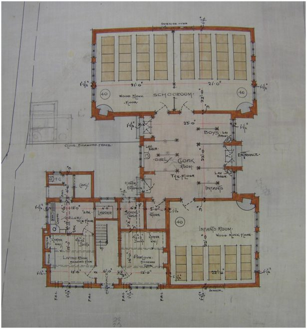 Meldreth Primary School Plans | Cambridgeshire Archives