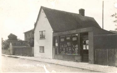 Meldreth Post Office 1924 | Bell's Postcard