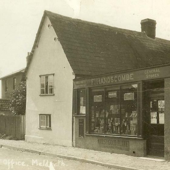 Handscombe's Shop was the site of the village post office from 1924 | Photograph supplied by Ann Handscombe