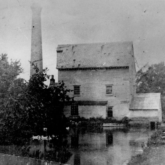 Flambards Mill, otherwise known as Quaker's Mill or Sheldrick's | Photograph supplied by Sandra Webb