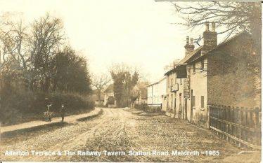 Railway Tavern P.H. | Robert H Clark postcard