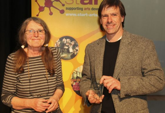 David Chappell receives 2011 Arts Award from South Cambs