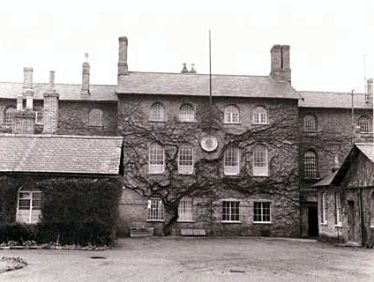 Royston Union Workhouse, erected 1835-36, at Baldock Road to the west of the town; it was demolished in 1972 | workhouses.org.uk