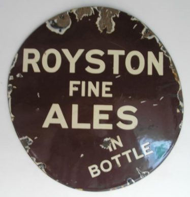 Royston Ales Advert | Courtesy of Royston Museum