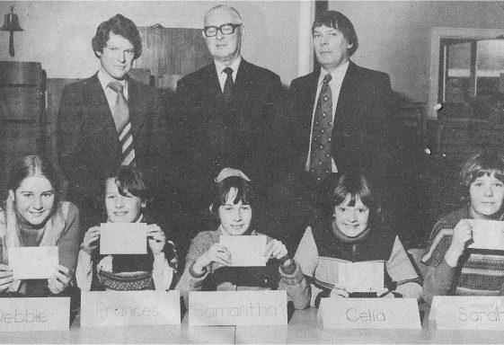 A History of Meldreth School, 1970 - 1979