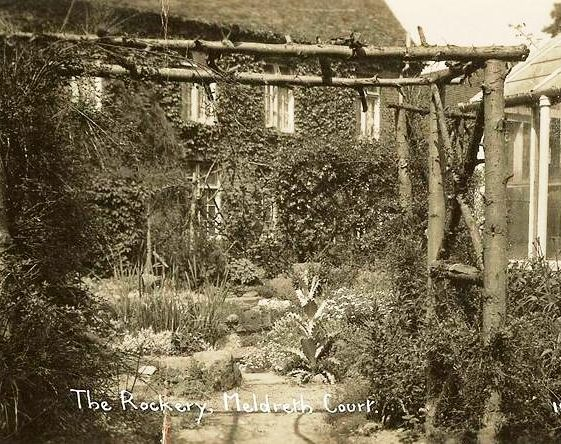 The Rockery at Meldreth Court, High Street, Meldreth. c.1930 | Photo supplied by Ann Handscombe