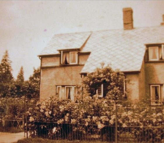 7 North End, formerly Rose Cottage, in 1932 | Photograph supplied by Alison Chalkley