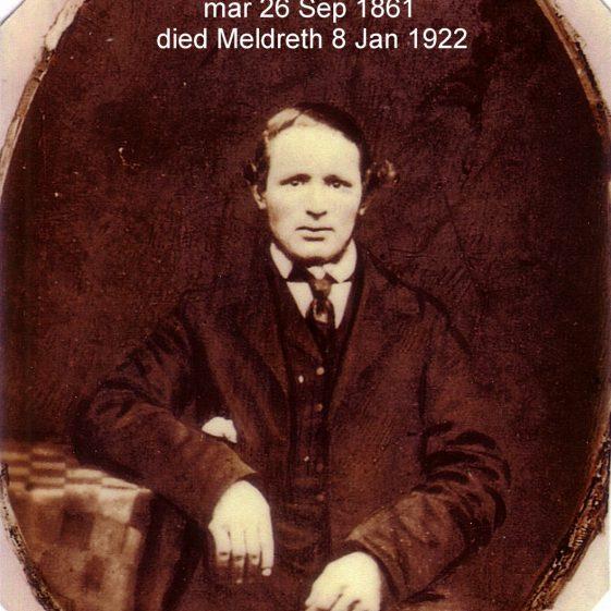 Samuel Woods (1833-1922) | Photographs courtesy of Barbara Borghuis-Cooper