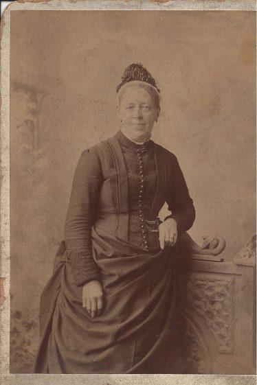 Marie Louise Oslar Ellis, Edwin's mother and the wife of Charles Ellis of Meldreth | Wendy Ellis