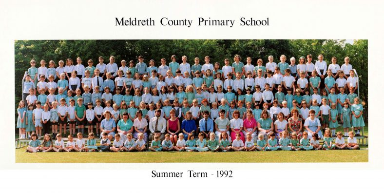 <b>Entire School, 1992</b> | Photograph courtesy of Christine Knight