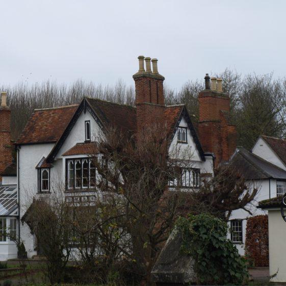 Chimneys at Sheene Manor | Bruce Huett 2014