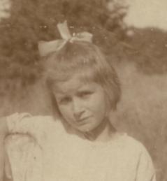 Sylvia Gipson, August 1923 | John Gipson