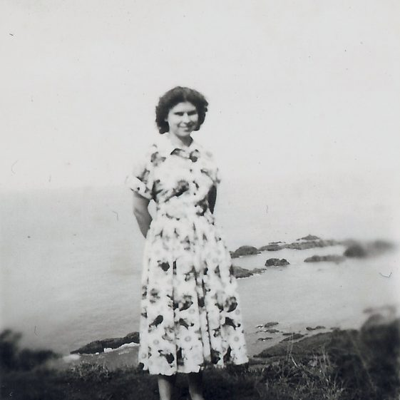 Mary Findlay, nee Adcock (1922-2016) | Photograph supplied by Mary Findlay