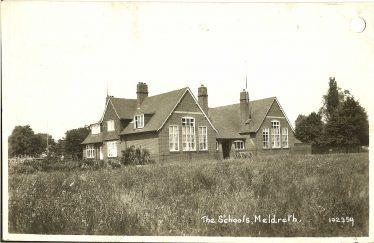 The school, c. 1910 | Bell's Postcard supplied by Ann Handscombe