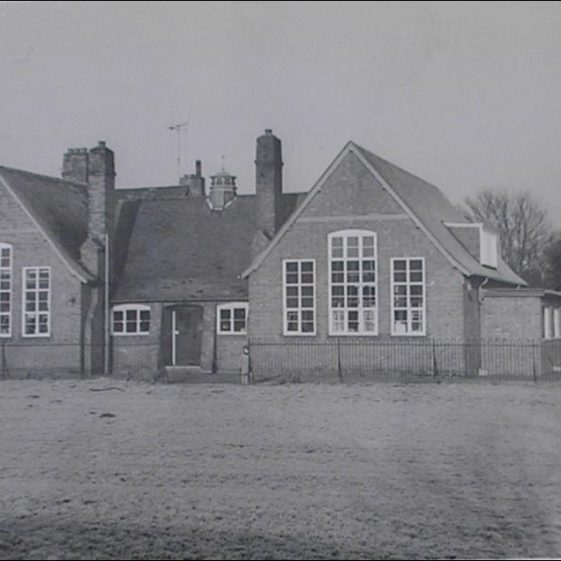 The school in 1965 | Photograph courtesy of Meldreth WI