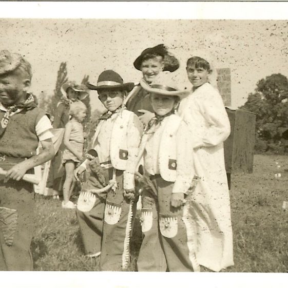 Meldreth School Fete, 1950 | Photograph courtesy of Brian Clarke