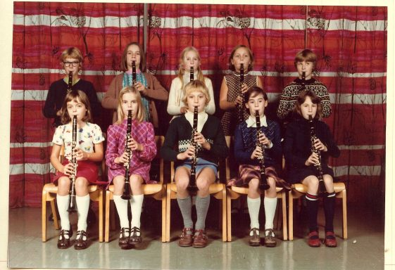 Clarinet Groups of the 1970s