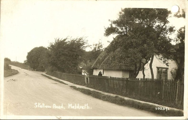 102371 Station Road, Meldreth | Bell's postcard supplied by Ann Handscombe