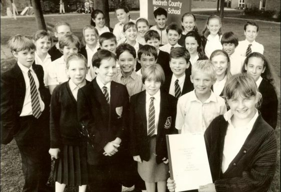 A History of Meldreth School, 1990 - 1999