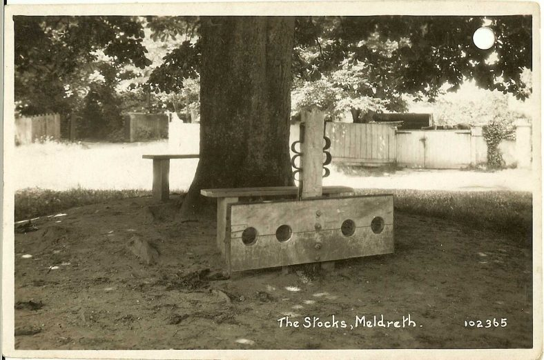 102365 The Stocks, Meldreth | Bell's postcard supplied by Ann Handscombe