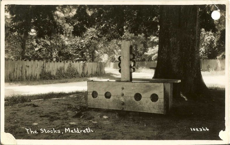 102366 The Stocks, Meldreth | Bell's postcard supplied by Ann Handscombe