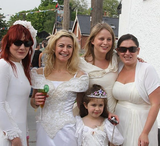 And yet more brides! | Photograph by Malcolm Woods