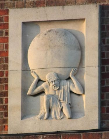 The Atlas Symbol is still on the Marley Eternit Building | Malcolm Woods