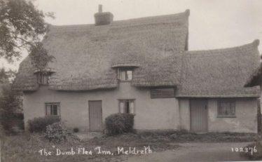 The Dumb Flea, 1920s | Bell's Postcard