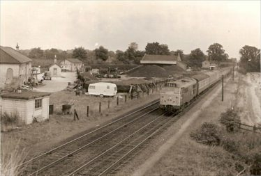 The Remains of the Goods Yard in 1971   Photograph of unknown origin