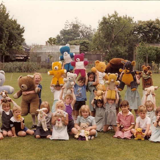Teddy Bears' Picnic, 1984 | Photograph courtesy of Alison Plester