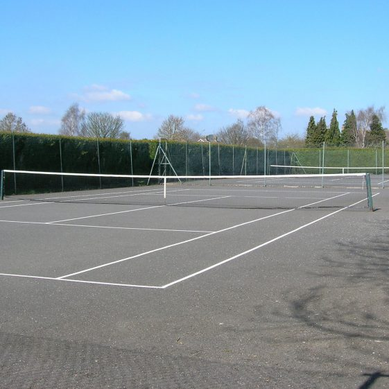 Meldreth tennis courts, March 2011 | Photograph by Kathryn Betts