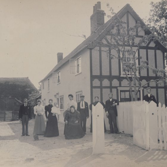 The Maltings, High Street, Meldreth.  Another property owned by and possibly built by John George Mortlock ~1900 | Photo donated to the MLHG by John Gispon
