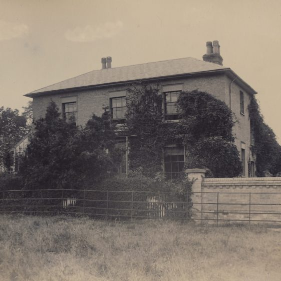 The Warren, North End, Meldreth.  Situated on part of Simeon Mortlock's farm, The Warren was owned by and possibly built by John George Mortlock ~1900. | Photo donated to the MLHG by John Gipson.