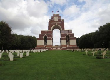 Thiepval Memorial to the Missing of the Somme | Photograph by Kathryn Betts, October 2014