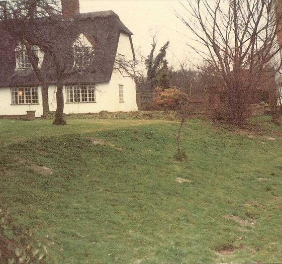 Topcliffe Mill and house (converted granary) in 1983 prior to the renovation of the house | Photograph supplied by Kathryn Betts